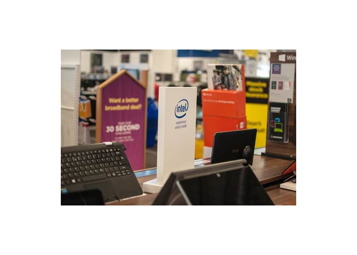 digital displays with open frame for Intel