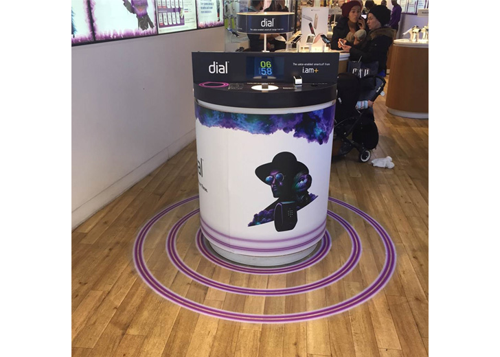 digital photo frame for advertising for dial - will.i.am