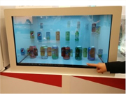 Transparent Digital Displays with touchscreen