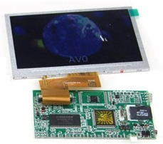 Frameless digital screen