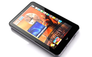 Android Tablets - Front view