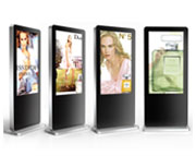Freestanding Digital Displays
