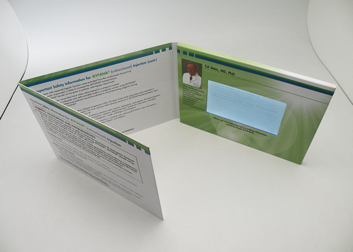 Multi-page digital video brochures