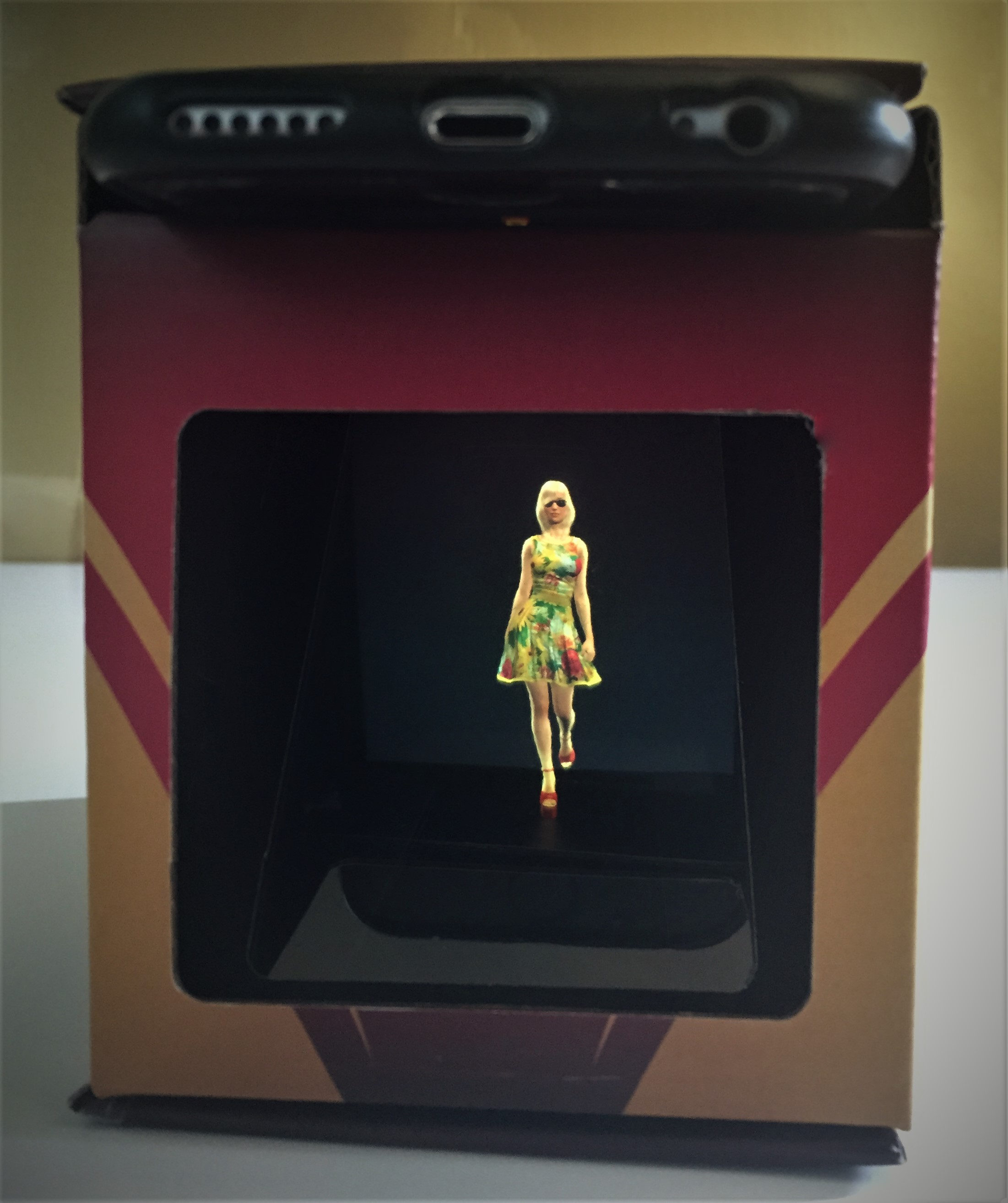 3D Holograms Holocube Displays for POS