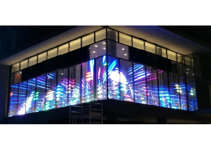 Digital Led Screens Transparent Displays Display Innovations